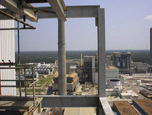High Above the Entergy Nelson Plant in Westlake, LA